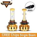 Auxbeam 2pcs Cree LED Chips 9005/HB3 Car Headlight Bulbs 60W/pair Aircraft Grade Luxury Gold Aluminum Refitment For SUV Fog Lamp