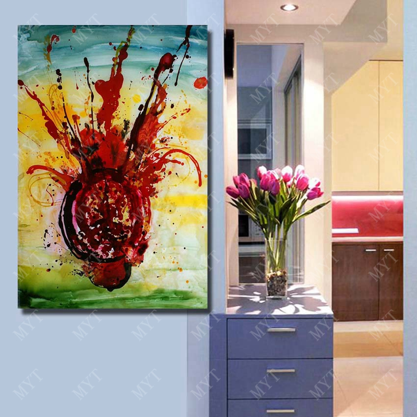 hand painted chihuly glass painting pictures living room wall decor oil painting on sale high quality wall art no framedin painting u0026 calligraphy from home