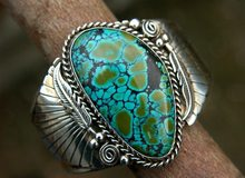 Charming ทิเบต silvers Retro Vintage MIAO Silver blue Chalcedony TURQUOISEs แหวนหญิง luck เครื่องประดับฟรี(China)