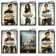 Maze Runner The Scorch Trials Movie Home Decorative Painting White Kraft Paper Poster 42X30cm