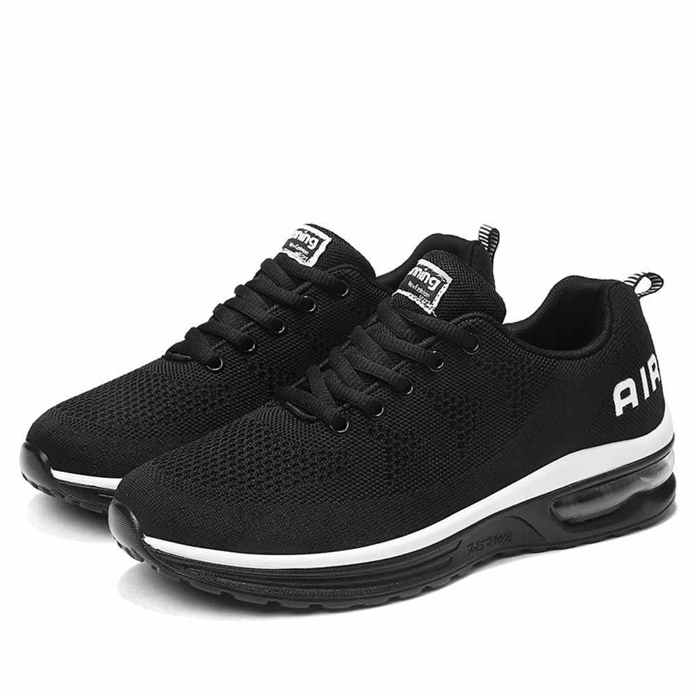 Erkekler koşu ayakkabıları Hafif AthleticBreathable Spor Spor Koşu Sneakers de corrida de Fitness # L5