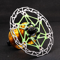 Deckas Ultralight 82G CNC 6 pulgadas 160mm freno de disco 6 Tornillos rotor mtb montaña Bicicletas flotador rotor partes 6 colores