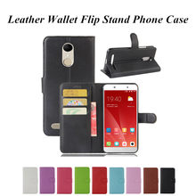 Wallet Flip PU Leather Case for ZTE Blade A462 A310 A315 A450 A452 A460 A510 A602 A610 Plus A910 L4 PRO A475 L3 L2 Axon 7 Mini(China)