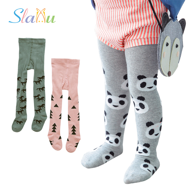 2c2a33443 2Pcs Lot Kawaii Kids Toddler Tights for Baby Boys Girls Tights Soft Cotton  Children Stocking Pantyhose Newborn Clothing 1-3 Y