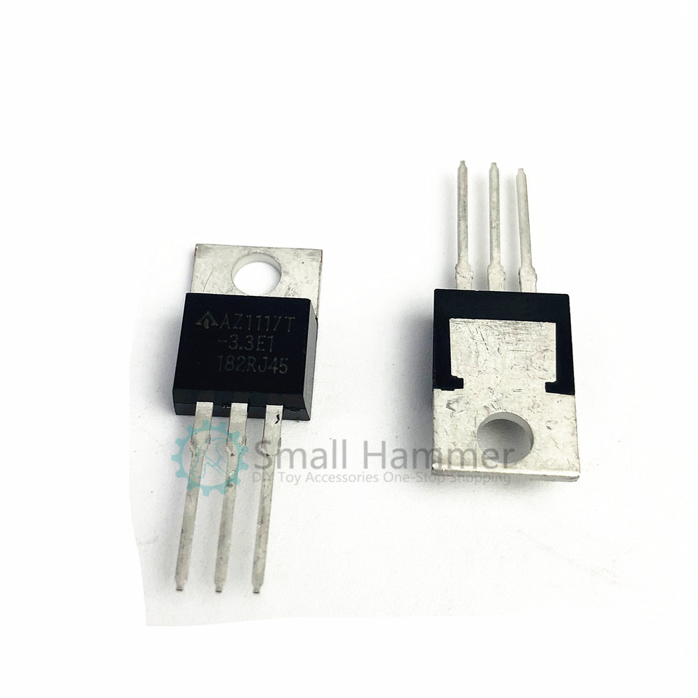 5pcs New In-line LM1117T-3.3 1117-3.3 Regulator IC