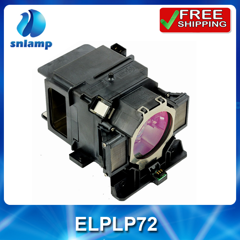 все цены на Hot sale ELPLP72/V13H010L72 Replacement lamp with housing for PowerLite Pro Z8150NL Z8250NL Z8255NL Z8350WNL Z8450WUNL Z8455WUNL онлайн