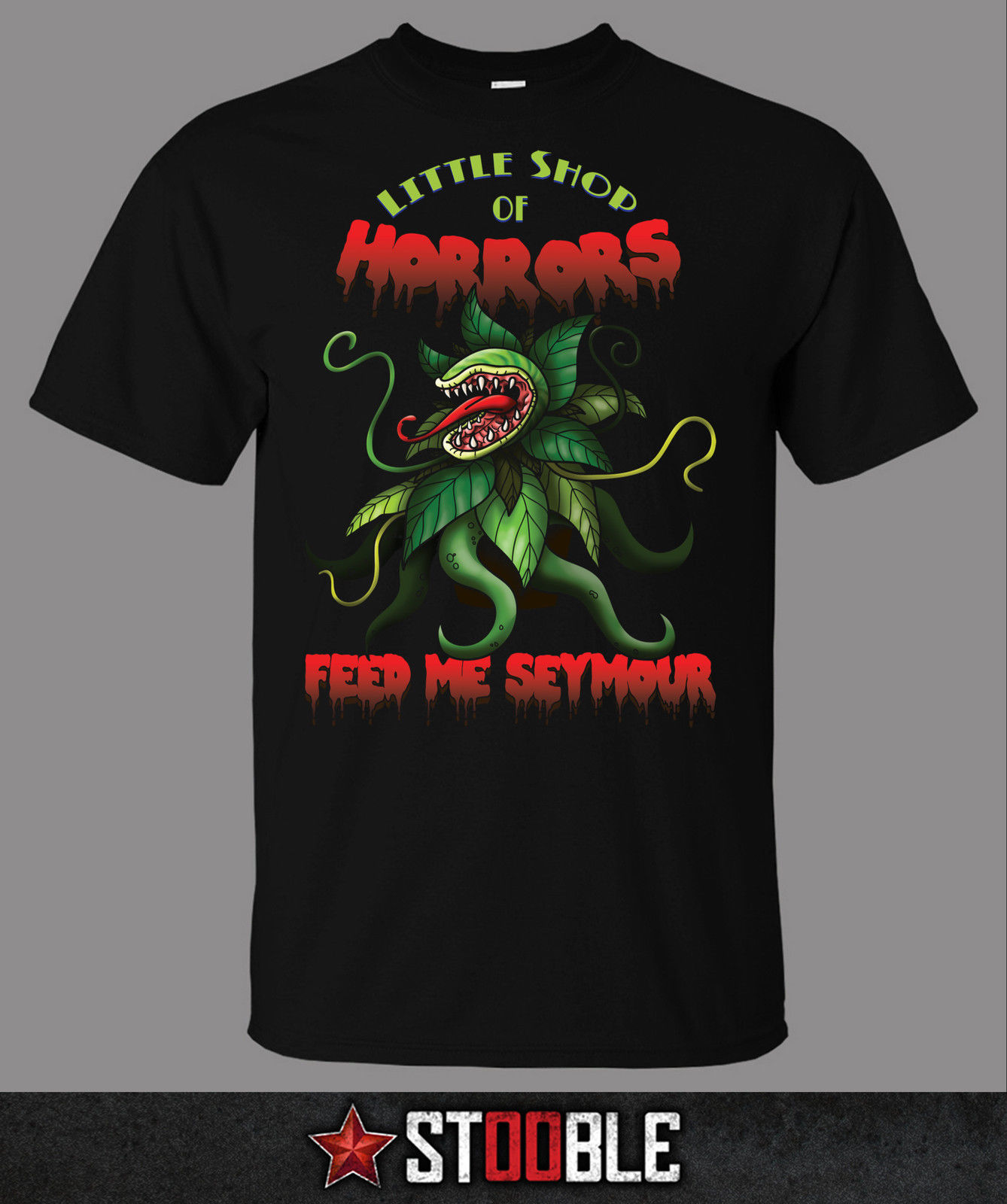 Little Shop of Horrors T Shirt Direct from Stockist New T Shirts Funny Tops Tee New Unisex Funny Tops in T Shirts from Men 39 s Clothing