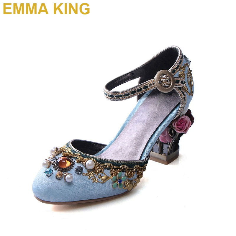 Bird Cage Fretwork Womens Genuine Leather Shoes High Heels Ankle Strap Women Wedding Shoes Rhinestone Sexy Pumps Dress ShoesBird Cage Fretwork Womens Genuine Leather Shoes High Heels Ankle Strap Women Wedding Shoes Rhinestone Sexy Pumps Dress Shoes