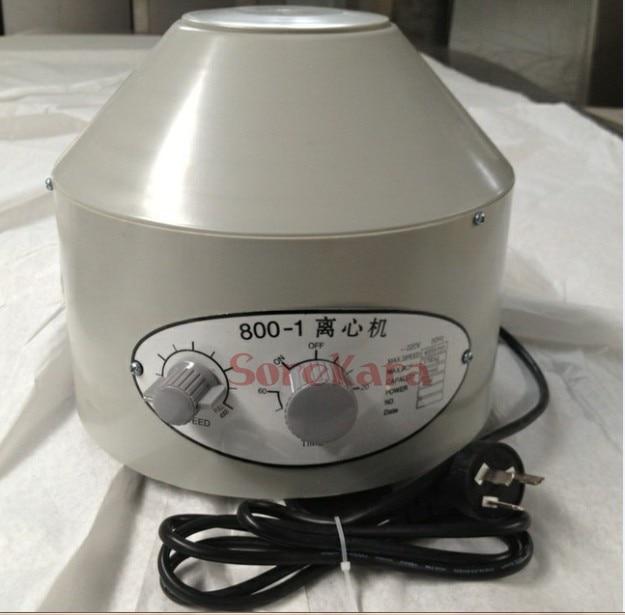 800-1 electric centrifuge desktop 0-4000rpm cap:20mlx6 each bid for 1pcs electric centrifuge lab desktop 0 4000rpm cap 20mlx6 800