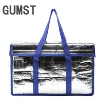 GUMST 22L thermal big picnic cooler bags insulated vehicle insulation cool ice pack lunch box food fresh carrier bolsa termica(China)