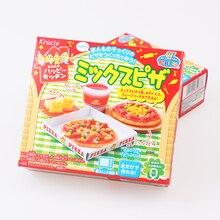Cozinhar Popin Kracie doces Brinquedos massa. Pizza bolo de aniversário Sushi Hambúrguer Mokolet Pop Fiado feliz cozinha doces Japoneses d0
