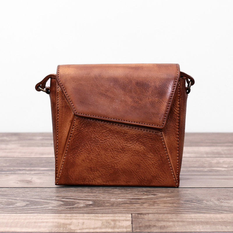 ФОТО Women 2017 Genuine Cowhide Solid Vintage Handmade Cow Leather Handbag Messenger Crossbody Small Flap Casual Shoulder Bag