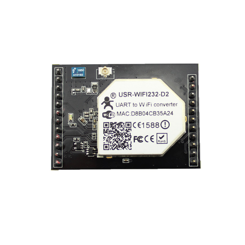 USR-WIFI232-D2b Serial UART TTL to Wifi/Wireless Module Converter with Built-in Webpage and External Antenna
