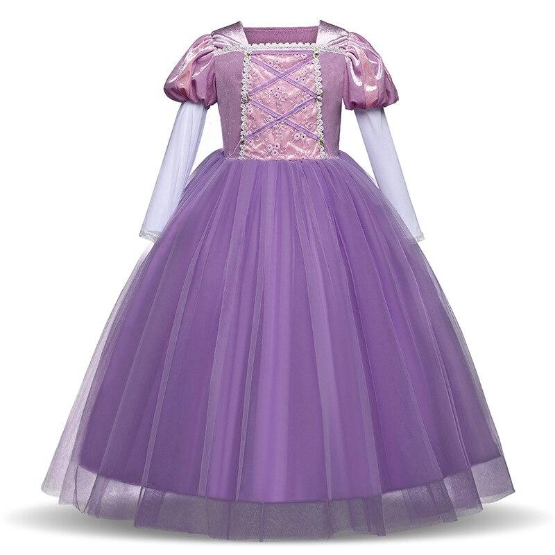 Cendrillon robe de fille noël robe Festival Performances princesse robe enfants robes pour filles mode C - 2