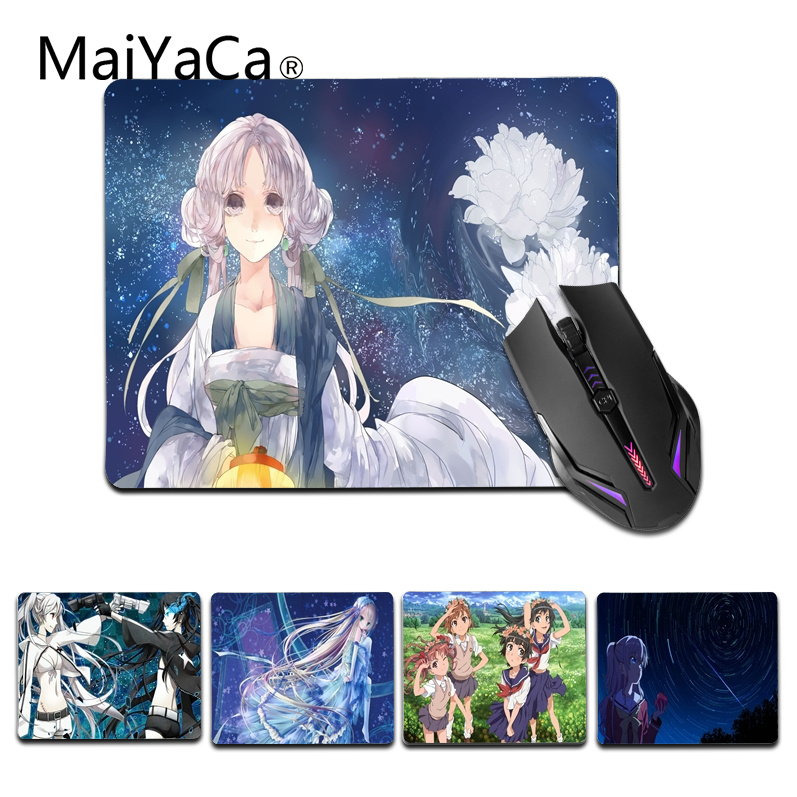 MaiYaCa Top Quality Magical Girls Computer Gaming Mouse mats Size for 18x22cm 25x29cm Gaming Mousepad