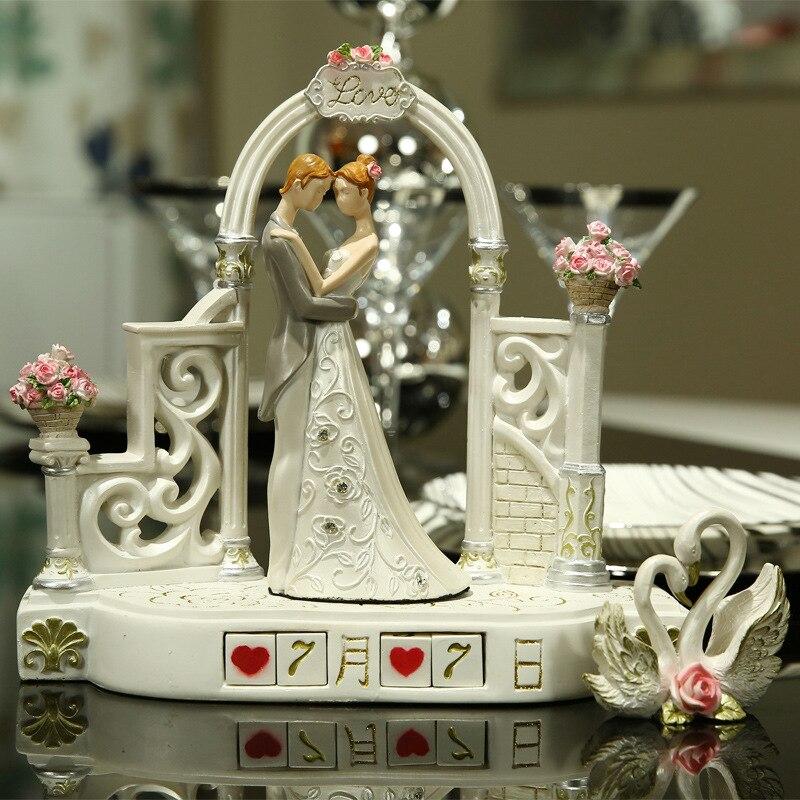 Creative crafts ornaments upscale anniversary girlfriends