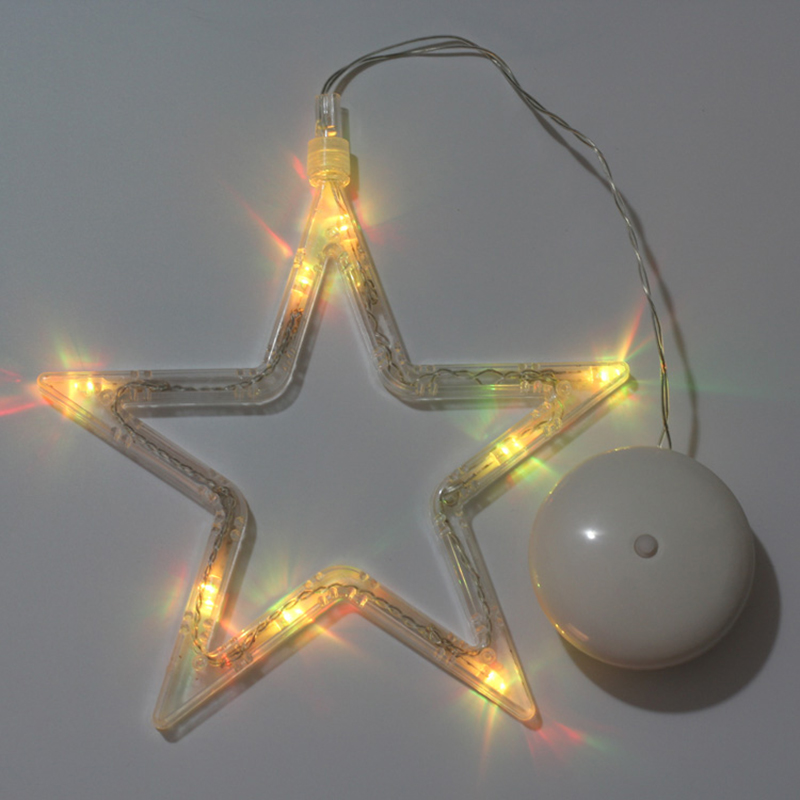 Star Christmas decorations led hanging light/ festival chandeliers New Year s Day activities decorated/ battery operation ...