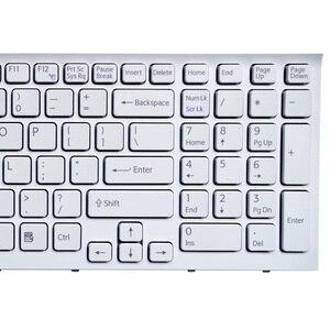 SSEA новая белая клавиатура США для Sony vaio VPC-EB VPCEB VPC EB pcg-71211v VPCEB36FG VPCEB4J1R VPC-EB1E9R с рамкой