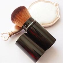 1PCS Pro Retractable Makeup Blush Brush 2018 Hot Fashion Powder Cosmetic Adjustable Face Power Brush Kabuki Brush HZS059
