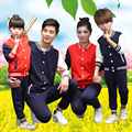 Family Matching Clothes Mother Father Baby Son Daughter Suits Clothes Set Outfits Parents Child Football Tracksuit Set