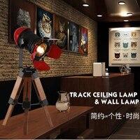 Artpad минималистский Творческий промышленного светодио дный настольная лампа осветительное оборудование с регулируемым Дерево штатив для О