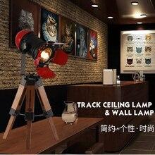 Artpad Minimalist Creative Industrial Led Desk Lamp Lighting Fixture With Adjustable Wood Tripod For Indoor Lighting