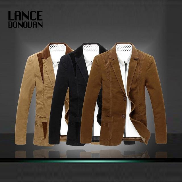 3 cores Blazer masculino moda 2014 slim fit plus size M-5XL 6XL 7XL 8XL para homens primavera terno