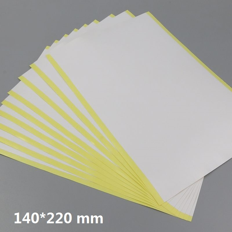 Size 140*220mm Double Sided Adhesive Sticky Tape Sheet For Scrapbooking Paper Craft Cardmaking 2/10/30/50 You Choose Quantity