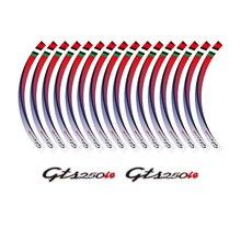 KODASKIN 2D Emblem Sticker Decal Wheel Rim for GTS 250ie