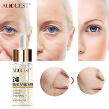 11.11 AuQuest Hydrolyzed 24K Gold Serum Face Peptides Anti-Wrinkle Remover Moist