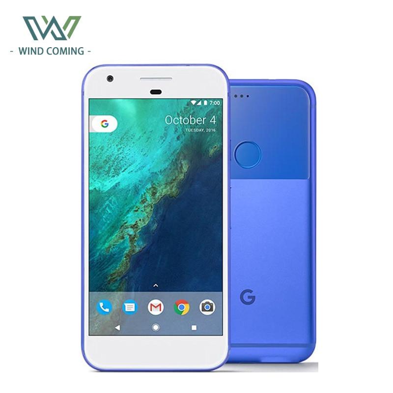 European Temperate Original Google Pixel 32gb/128gb Rom Mobile Phone 5.0 Quad Core 4g Lte Android 4gb Ram Smartphone Fingerprint Nfc Cellphone Fast Color
