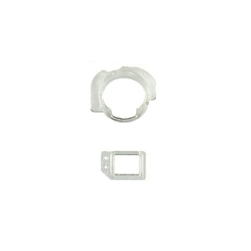 10sets/lot High Quality Front Camera Plastic Cap Seal Bracket Ring With Light Sensor Circle Holder For iPhone 6 6 Plus 4.7