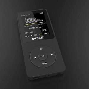 Image 3 - 2016 100% originale Inglese versione Ultrasottile MP3 Player con 4GB di storage e Schermo Da 1.8 Pollici in grado di riprodurre 80h, originale RUIZU X02