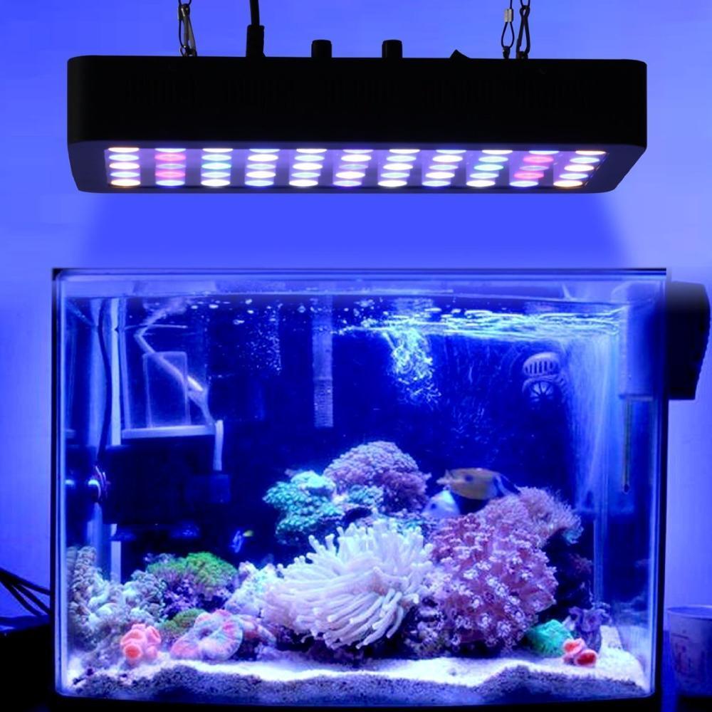 Dimmable 165w Full Spectrum Led Aquarium Lamp Best For