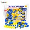 Inbeajy Children Kitchens Children Kitchen Classic Toys Pretend Play Kitchen Toys Of Tea Sets Tableware Educational