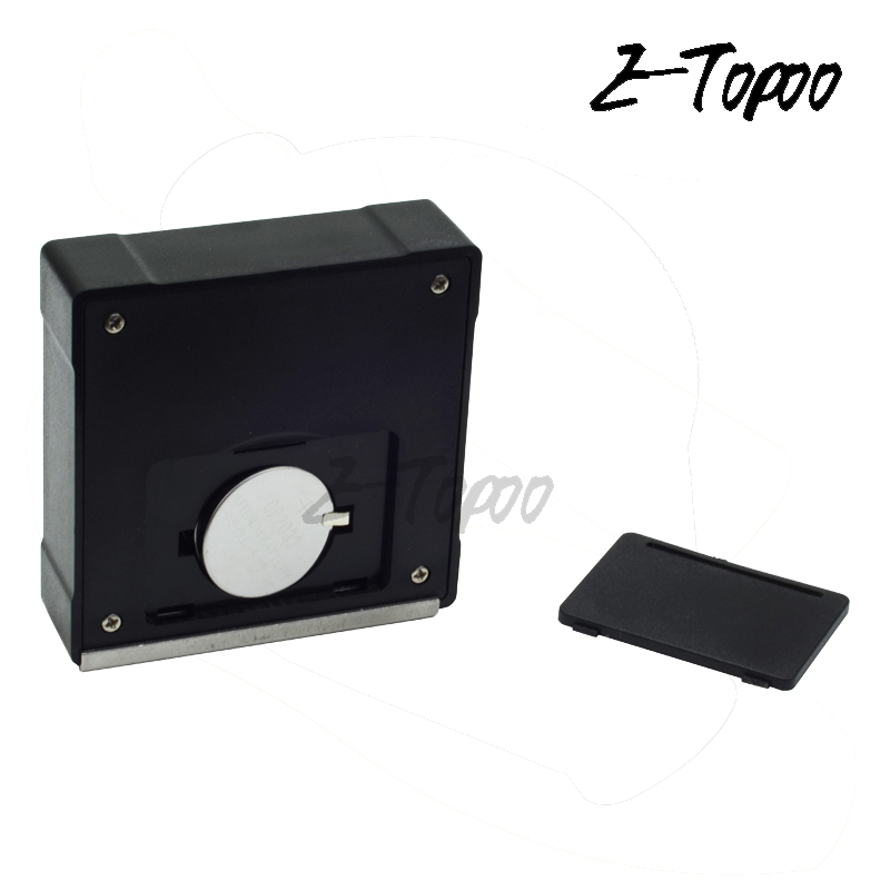 Kcnsieou 360 Degree Light Weight Durable Digital Protractor Inclinometer Electronic Level Box Magnetic Base Measuring Tools