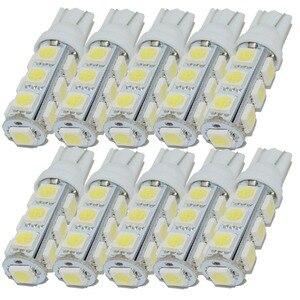 Image 1 - Safego 10 Chiếc T10 W5W 194 168 2825 LED Wedge Bóng Đèn Thay Thế 5050 13 SMD Tự Động Xe Hơi Ô Tô Trang Trí Nội Thất Đèn trắng Ấm 5000K 6000K