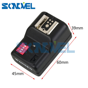 Image 3 - WanSen PT 16GY 16 Kênh Wireless Flash Trigger Transmitter SET với 3 Receivers cho Canon Nikon Pentax Olympus Yongnuo Sigma