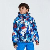 New Children Ski Jackets Warm Winter Jackets Boys Girls Waterproof Outdoor Sport Snow Skiing Snowboarding Clothing For Child