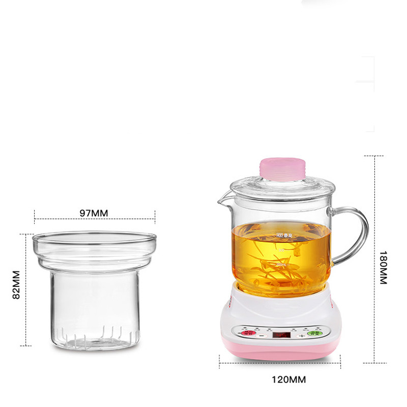 Electric kettle Health care cup electric hot mini glass health pot office smart water brew teapot Anti-dry ProtectionElectric kettle Health care cup electric hot mini glass health pot office smart water brew teapot Anti-dry Protection