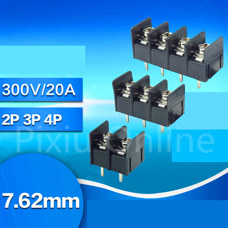 10PCS ST171b Barrier Terminal Block KF7.62 2/3/4P Soldering Circuit Board Connector 7.62mm Connecting Terminal 300V 20A тд ная ибис кс 12у правый комби венге ящики дуб беленый page 8