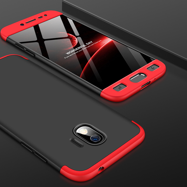 detailed look 34ce8 a9b01 US $6.86 20% OFF|Luxury 3 IN 1 360 Protection for Coque Samsung J2 Pro 2018  Case Samsung Galaxy J2 Pro 2018 Cases Hard Cover for Samsung J2Pro-in ...