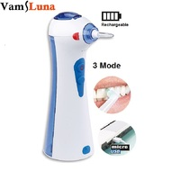 Dental Water Flosser With 2 Nozzles 120ML Water Tank Electric Rechargeable Oral Irrigator For Daily Travel