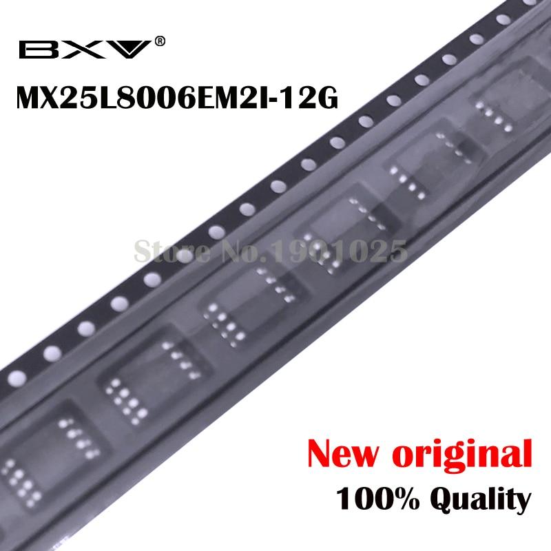 10pcs MX25L8006EM2I-12G 25L8006EM2I-12G MX25L8006E SOP-8 MX25L8006 25L8006E New Original