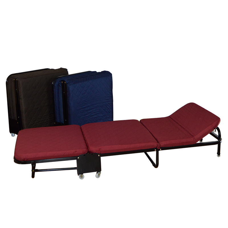 Simple Folding Bed Lunch Bed Lightweight Office Adult Wooden Board Bed Outdoor Portable Lunch Break Bed