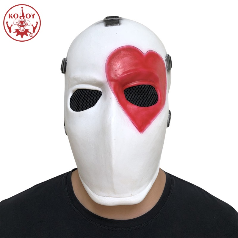 Male Female Funny Poker Mask Party Cosplay Color Helmet Unisex