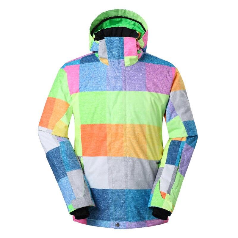 Gsousnow Новая зимняя мужская лыжная одежда 31fe91b806ec0