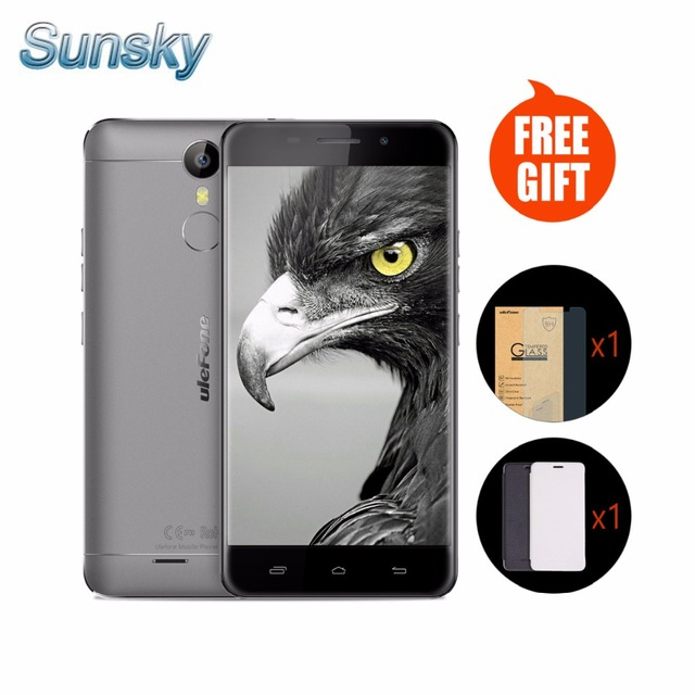 "Original Ulefone Metal 5.0"" Android 6.0 MTK6753 Octa Core 4G FDD LTE 3GB 16GB Dual Sim Cellphone GPS Fingerprint OTG MobilePhone"