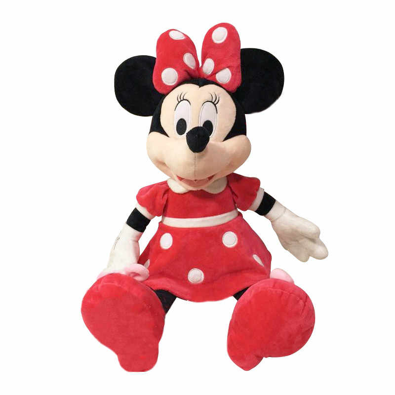 Christmas Minnie Mouse Plush.1pc 30cm Best Selling High Quality Mickey Mouse Or Minnie Mouse Plush Toy Doll Birthday Christmas Gift Baby Sleep Toys