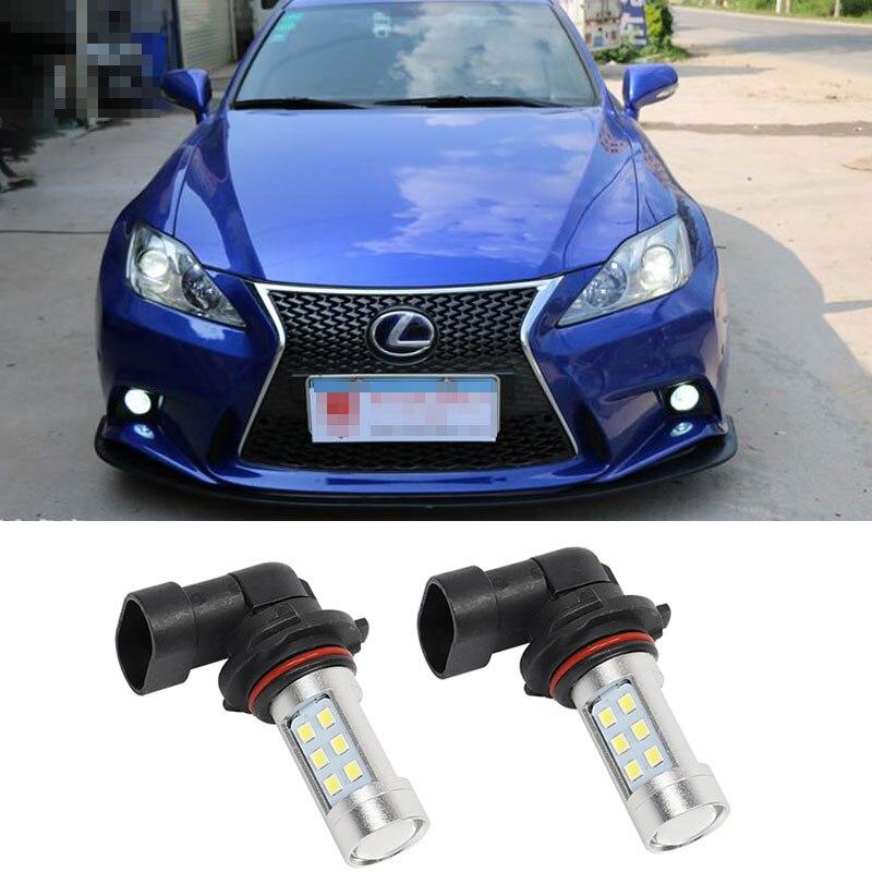 2x9006 hb4 levaram luzes de nevoeiro lampada para lexus ls460 is250 ls600h es350 gs rx 300